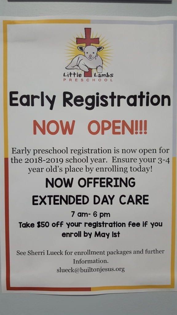 Early Registration Now Open!